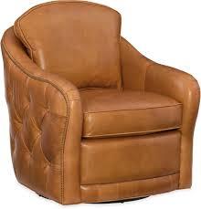 Hooker Furniture Living Room Hilton Swivel Club Chair CC497 ...