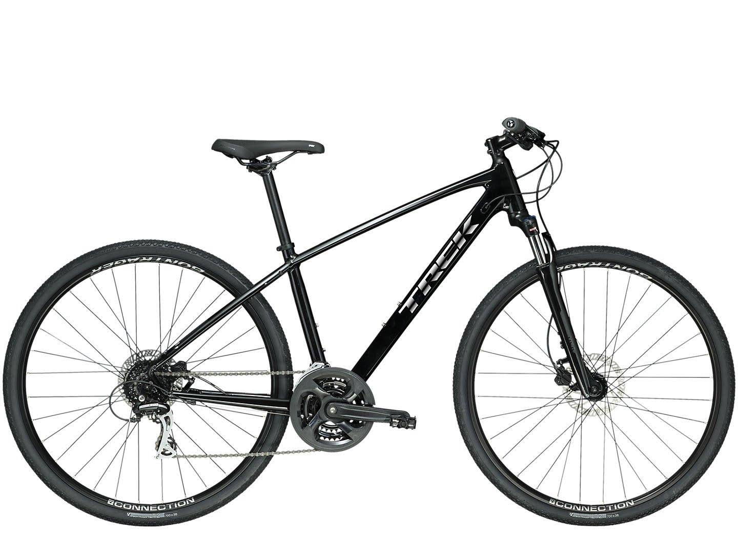 Trek Dual Sport 2 (Black) 2020 Hybrid Bike - Large