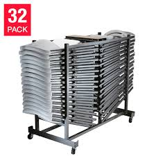 Lifetime Folding Chair With Cart, White Or Almond, 32-pack Lifetime Commercial Folding Chair 201 D X 185 W 332 H Almond White Plastic Seat Metal Frame Outdoor Safe Set Of 4 With Carry Handle Ltm480372 Chairs 32 Pack 80407 Black Classic 4pack Lowes Pk 80643 480625 Contemporary 42810 Light Granite Of 6foot Stacking Table And Combo