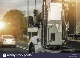 100 American Trucking Semi Truck Driver Job Heavy Duty Transportation Concept