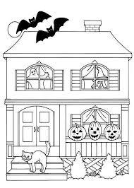dessin de coloriage maison à imprimer cp16931