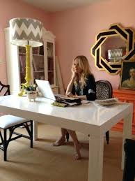 Fancy Desk In Dining Room Love Desks The Middle Of A Simple Classy Chic