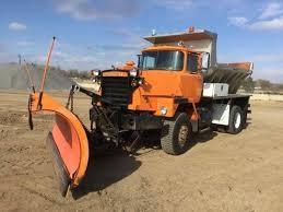 100 Salt Spreader For Truck 1988 Mack RM686 Single Axle Plow Sale