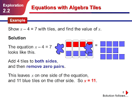 equations with algebra tiles ppt video online download