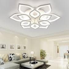 neo gleam new acrylic modern led ceiling chandelier lights for