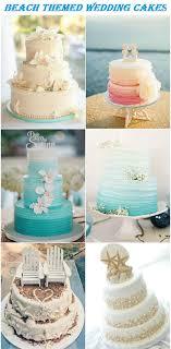 Elegant Beach Themed Wedding Cake Ideas