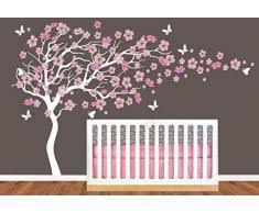 sticker chambre bébé fille stickers arbre chambre fille my