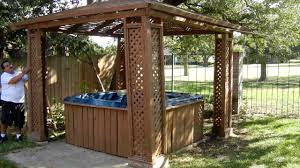 Hot Tub Gazebo Design Ideas — Home Design Ideas Patio Ideas Spa Designs Hot Tub Gazebo Backyard Idea Remarkable Small With Tubs Images For Installation And Landscaping Youtube On A Budget Corner Ordinary Back Yard Design Amys Office Custom Stainless Steel With Automatic Retractable Safety Cover Outdoor Round Shape White Interior Color Decks The Outstanding Home Deck Homesfeed Amusing Pics Bathroom Gray Finish Wood Flooring Landscaping Hot Tub Pictures Solutionscustomlandscaping