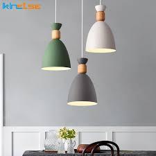 metal pendant nordic light modern colour l for