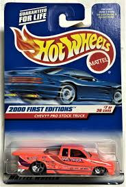 100 Pro Stock Truck 2000 Hot Wheels First Editions 7 Chevy