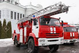 100 Fire Truck Red Truck Big Red Russian Fire Fighting Vehicle
