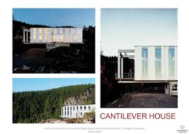 100 Cantilever Home CANTILEVER HOUSE Anderson Anderson Architects Picture Gallery