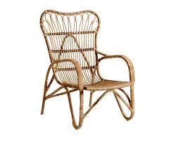 Bloomingville Rattan Lounge Chair Gardenista
