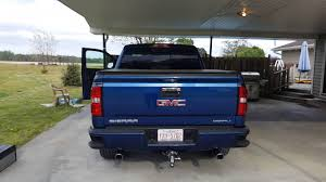 100 Dual Exhaust For Trucks 2015 GMC Sierra Denali With 25 Leveling Kit And MagnaFlow