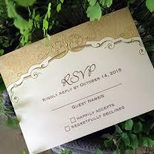 Vintage Floral Wedding Invitations Rsvp Cards