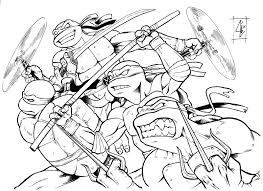 Teenage Mutant Ninja Turtles Coloring Pages Games Raphael Lego 2014 Movie Full Size