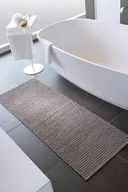 küchenläufer badteppich läufer silo dunkelgrau schwarz