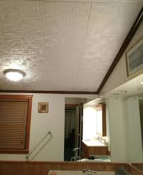 Bathroom Ceiling Ideas Bathroom Ceiling Tiles Bathroom Ceiling Tiles ... Bathroom Tile Idea Use The Same On Floors And Walls Great Blue Lighting False Ceiling Designs With Fan Creamy 30 Awesome Diy Stenciled Ceilings That Exude Luxury With Pictures Best 50 Pop Design For Roof Zacharykristen Curtains Ideas Coolwer Curtain Small Bold For Bathrooms Decor Home Pictures Depot Panels Trim Lights 3203 25 Tile Ideas Small Bathrooms And How To Remove Mold Anti Attic Rooms 21 Ways To Capitalize On Your Top Floor Bob Vila Inspiring 20 Basement Budget Check