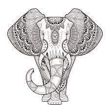 Printable 21 Elephant Mandala Coloring Pages 8917