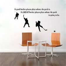 Wall Mural Decals Canada by Online Buy Wholesale Hockey Decals From China Hockey Decals