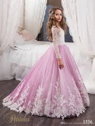 flower girls dresses for weddings 2017 pentelei with long sleeves
