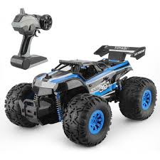 LARGE MONSTER TRUCK 1/18 RADIO REMOTE CONTROL RC CAR BIGFOOT READY ...