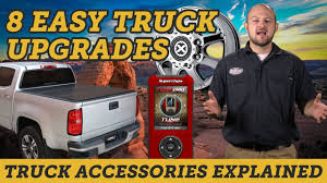 8 Easy Upgrades For Your New Truck | Truck Accessories Explained ... Truck Accsories Tx Riggins 7 Custom For All Pickup Owners Grille Guard Ranch Hand Rhino Lings Milton Protective Sprayon Liners Coatings And Hh Home Accessory Center Hueytown Al Meadville Pa Line X Of Crawford County Truckbedcoversbyprice Access Plus The Boutique A City Explored Parts Tufftruckpartscom Store Plainwell Mi Automotive Specialty Affordable Drivetrain Service Bitely