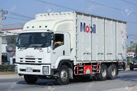 100 26 Truck CHIANGMAI THAILAND DECEMBER 2015 Container Of Mobil
