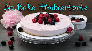 no bake himbeer mascarpone torte kuchen ohne backen selber machen ohne gelatine