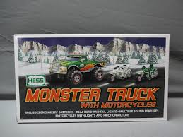 Buy Hess 2007 Monster Truck W/ 2 Motorcycles In Cheap Price On ... Toy Trucks Hess Colctibles Price List Glasses Bags Signs Hess Truck 2013 Truck And Tractor Collector Item 2000 Mini Toys Buy 3 Get 1 Free Sale Collectors Forum Home Facebook All Where Can I Sell My Vintage Hobbylark 197576 Freight Carrier W Barrels Box 1967 Tanker Red Velvet Base With Box By The Amazoncom 1984 Oil Bank Games 1996 Emergency Ladder Fire Empty Boxes Store Jackies