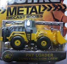 Amazon.com: Tonka Metal Diecast Bodies - Pay Loader Construction ...