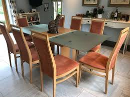 Hulsta Satinovo Glass/Maple Wood Dining Room Table And 8 Chairs | In Stow  On The Wold, Gloucestershire | Gumtree Maple And Black Kitchen Sets Edina Design Formal Ding Room Fniture Ethan Allen Solid Maple Ding Table With 6 Chairs And 2 Leaves 225 Bismarck Nd Uhuru Colctibles 1950s Table W Baytown Asbury 60 Round 90 Off Custom Made Tables Home Decor Amusing Chairs Inspiration Saber Drop Leaf Chair Set By Lj Gascho At Morris Christy Shown In Grey Elm Brown A Twotone Michaels Cherry Onyx Finish Includes 1 18 Leaf Kalamazoo Dinner Vintage W2 Leaves Hitchcock Corner Woodworks Vermont