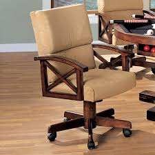 100 Wood Gaming Chair Coaster Fine Furniture Marietta Beige At Lowescom