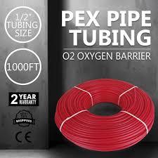 Pex Radiant Floor Heating by 2018 Mophorn Pex Tubing Oxygen Barrier Radiant Floor Heat Pex 1 2