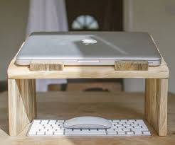 Pallet Wood Laptop Riser