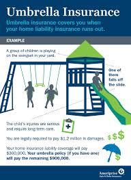 Umbrella Insurance for Home Infographic