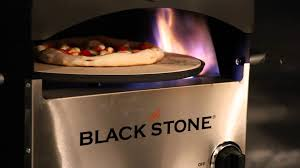 blackstone pizza oven first pie youtube