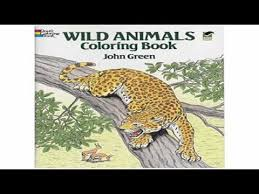 Wild Animals Coloring Book Dover Nature