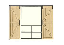 Ana White | Build A Sliding Barn Door Media Wall Suite | Free And ... Bar Sliding Barn Door Plans Best 25 Modern Barn Doors Ideas On Pinterest Sliding Design Designs Interior Ideasbarn Closet Building Space Saving And Creative Doors Dutch How To Build Page Learn About Remodelaholic Simple Diy Tutorial Front Overhang Ideas Tape Guide Cross Fake Garage Windows Diy Vinyl Free From Barntoolboxcom For The Farmhouse Small Hdware And