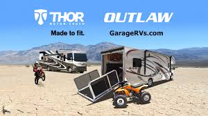 Toy Haulers Outlaw Motorhomes With Garage From Thor Motor Coach