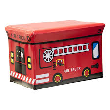 Kids Folding Ottoman Storage Seat Toy Box, Large - Fire Truck – Down ... Fire Brigade Large Action Series Brands Fun Toy Trucks For Kids From Wooden Or Plastic Toys That Spray New Engine Dedication Ceremony Saturday March 5 2016 Truck Shoots Balls Wwwtopsimagescom Ladder Amishmade Amishtoyboxcom Amazoncom Paw Patrol Ultimate Rescue With Extendable Tonka Mighty Motorized Games Melissa Doug Giant Floor Puzzle 24pcs Squirts Mini Products Extra Hubley Late 1920s Antique Engines