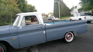 100 1966 Chevy Truck C10 Long Bed Big Window YouTube