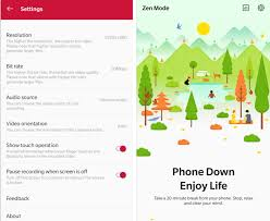 100 Zen Mode Download OnePluss Screen Recorder APK For Other