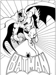 Super Heros Coloring Project Awesome Book Batman