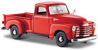 100 Orange Truck Shop Generic Maisto 1950 Chevy 3100 Pickup 31952124 Scale
