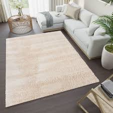 versay teppich shaggy beige weich modern wohnzimmer