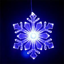 Outdoor Snowflake Ornament Design 1 Size 6