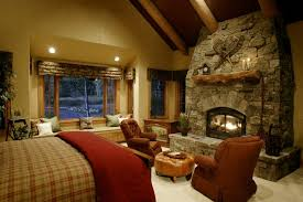 Storm Mountain Ranch House Rustic Bedroom