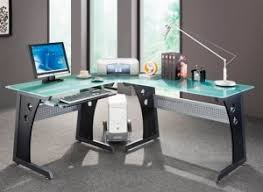 techni mobili l shaped glass computer desk review citidecor