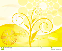 Orange Background Design Stock Illustration Image Of Direction
